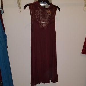 Lace, cotton dress